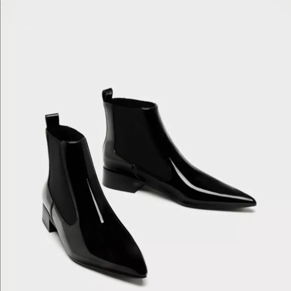 Zara Shoes - Zara stretch ankle boots with pointed toes